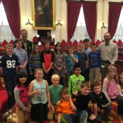 Fourth Grade class from Rick Marcotte Central School